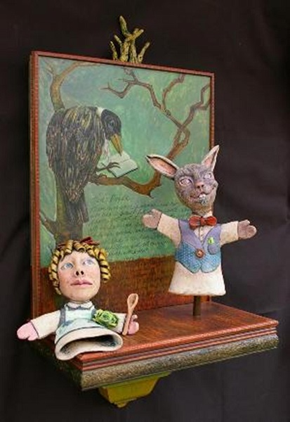 Hare's Bride Puppet Show (from Brother's Grimm)